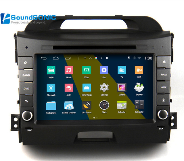 Android 4 4 4 For Kia Sportage R 2013 2014 2015 Car Radio Stereo Dvd