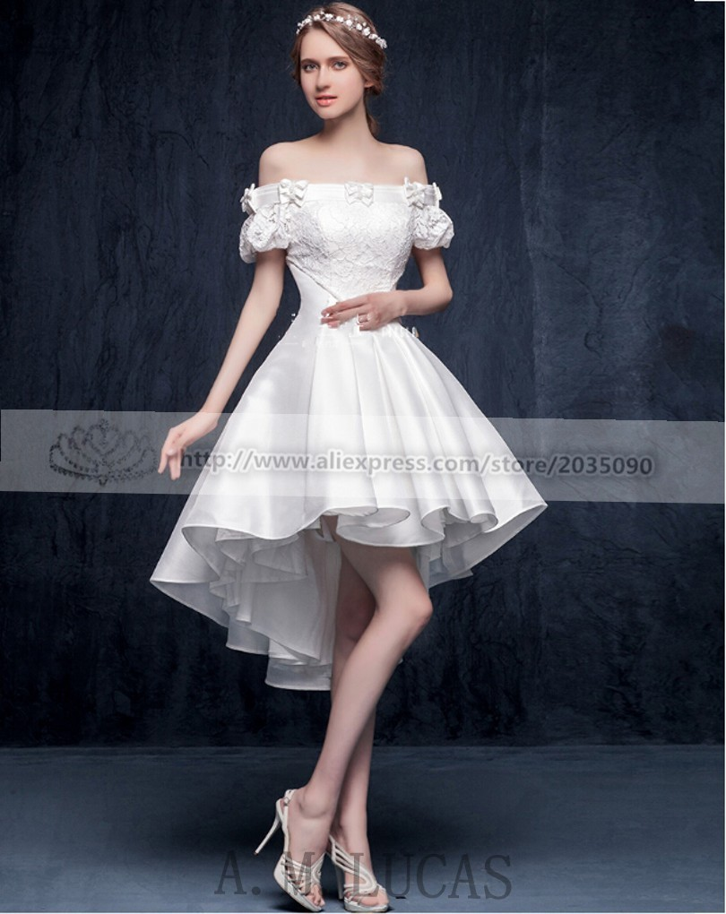 Elegant White Cocktail Dress
