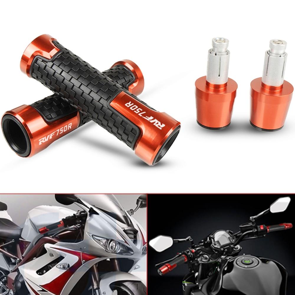 For Honda RVF750R RVF 750R RVF 750 R 1994-1999 1995 Motorbike CNC Aluminum Handlebar Handle Hand Grips And Bar Ends Silder Plugs