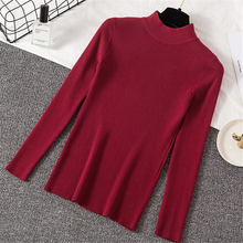 Sweater Women Korean Fashion Turtleneck Sueter Mujer Invierno 2019 Pullovers Sweaters