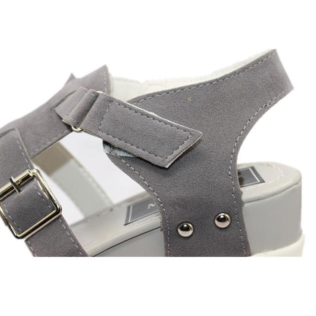 2017 Summer Sandals Shoes Women High Heel Casual Shoes footwear flip flops Open Toe Platform Gladiator Sandals Women Shoes Y48W