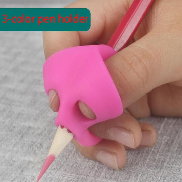 Ergonomic training pencil holder