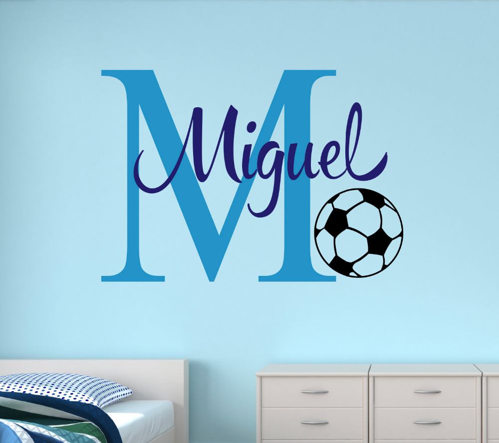 Customized Wall Art compare prices on customized soccer wall art- online shopping/buy