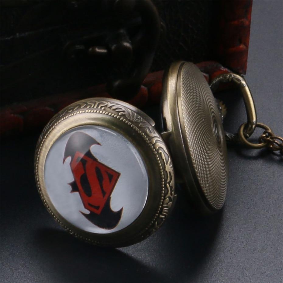 batman pocket watch, pocket watch, pendant watch jewelry, birthday gifts for kids (14)