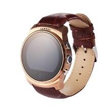 Luxus Bluetooth Smart Uhr Telefon SIM tf Kamera Smartwatch Sport Pedometer Schlaf-Monitor Uhr für IOS Android tragbare Gerät