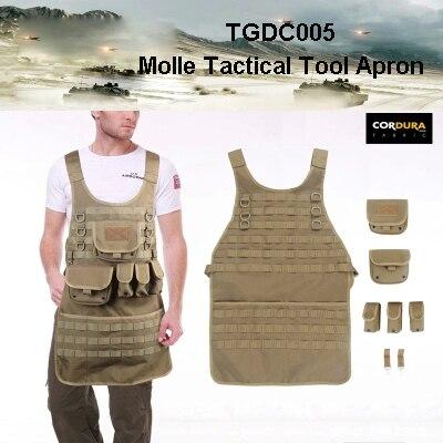 2015 Molle Nylon Tool Apron Nylon 600D Tool Apron For Tool Tactical Apron