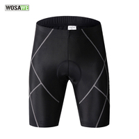 WOSAWE Men's Cycling Shorts MTB Bicycle Riding Tight Shorts With Gel Pad  Men's Summer Cycling Clothes Outdoor Sportswear