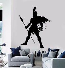 Sparta Spartan Soldier Warrior Military Decor Wall Stickers Vinyl Decal 2FJ40