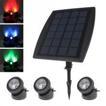 Светодиодный светильник на солнечной батарее яркий с панелью