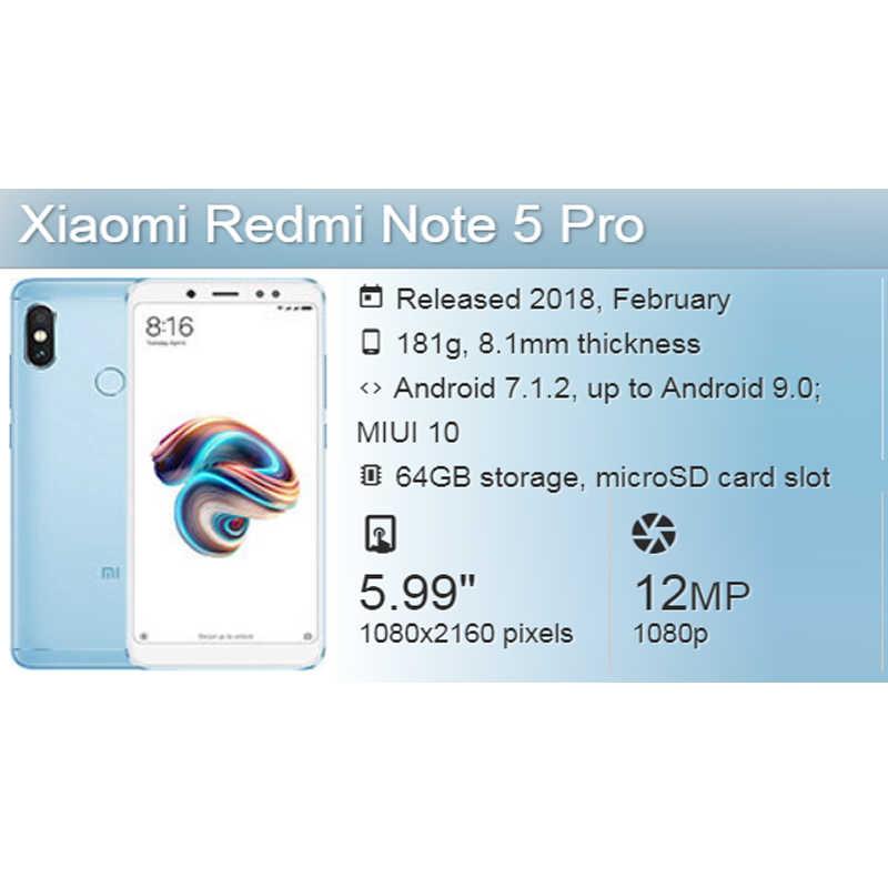 Для Xiaomi Redmi Note 5pro usb зарядка Нижняя плата Шлейф соединительные  детали с микрофонный модуль замены