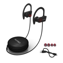 AKASO A1 IPX6 Waterproor Sweatproof Wireless Bluetooth Earphone Sport Stereo Headset  With Microphone For Phone Computer