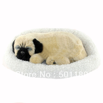 free shipping sleeping breathing toy dog sleeping dog toy breathing breathing cats and dogs