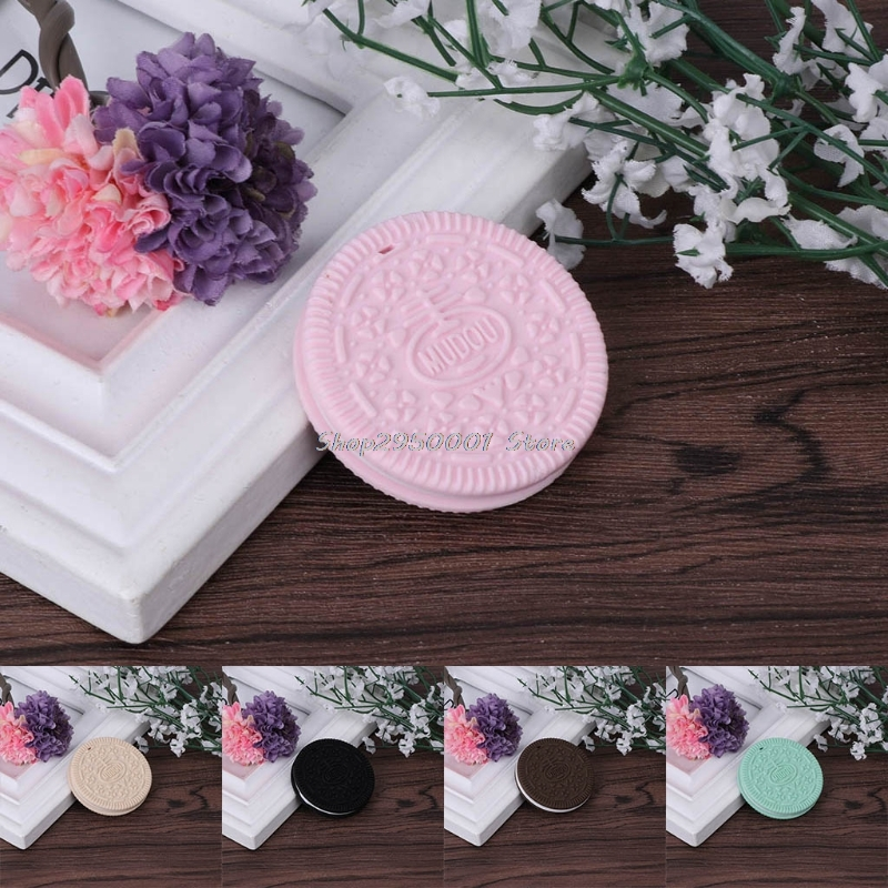 2017 Baby Teether Silicone Cookie Safety Teething Chewing Training Toddler Toys Gifts  DEC1_30 %328/319