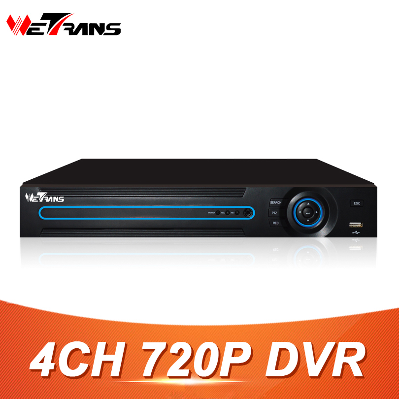 On Promotion 4CH DVR 720P HD Video Input HDMI and VGA Output Support 3.5 SATA HDD AHD Digital Video DVR 4 Camera HD Recorder sky 708 40ch 7 monitor hdmi input and diversity rx dvr ppm function