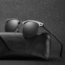 Bruno dunn Polarized Sunglasses Men Women Retro Brand Design Sun Glases ray ocul