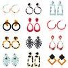 Acrylic Bohemian Earrings 1