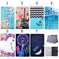 Magnetic Flip Stand PU Leather Smart Book Cover for Samsung Galaxy Tab E 9.6 T560 Tablet pc cases