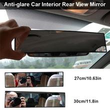 Rear View Mirror Universal Wide Angle Clip-on Rear View Mirror Installation Car Interior Mirrors Rearview Mirror