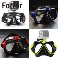 Форфар подводный Камера Дайвинг маска Одежда заплыва Очки Подводное плавание маска для GoPro Hero 2 3 3 + 4 sj4000 sj5000 для Xiaomi Yi