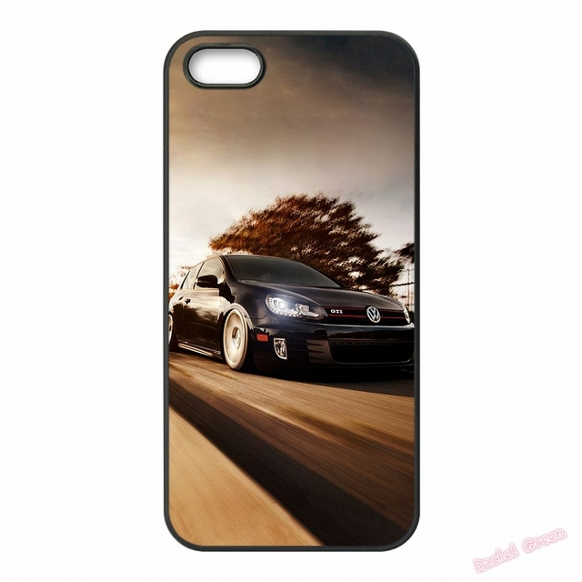 Vw Golf Silhouette Volkswagens U1 Phone Case Cover For Iphone 4s 5