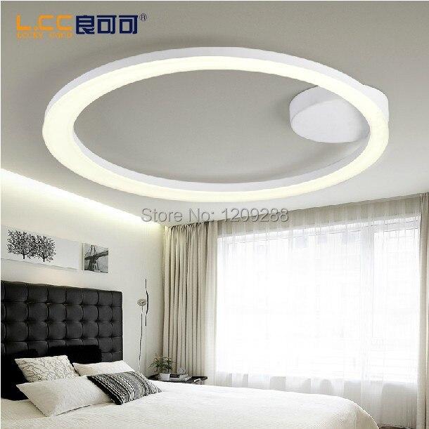 creatieve cirkel led lamp plafond moderne minimalistische
