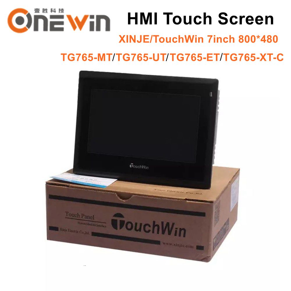 XINJE TouchWin TG765 MT TG765 UT TG765 ET TG765 XT C HMI Touch Screen 7 inch 800*480-in CNC Controller from Tools