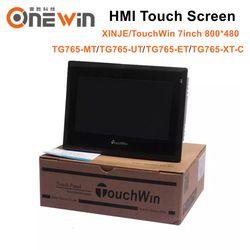 XINJE TouchWin TG765-MT TG765-UT TG765-ET TG765-XT-C HMI сенсорный экран 7 дюймов 800*480