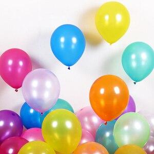 Image 5 - 100 قطعة/الوحدة 10 بوصة 1.5 جرام الأبيض اللاتكس بالونات الزفاف الديكور نفخ حفلة عيد ميلاد بالونات الهيليوم Globos Balony لوازم
