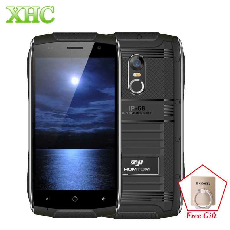 HOMTOM ZOJI Z6 IP68 Waterproof Mobile Phones WCDMA 3G 1280 x 720 pixels 4.7inch Android 6.0 MTK6580 Quad Core 1GB+8GB Cellphones
