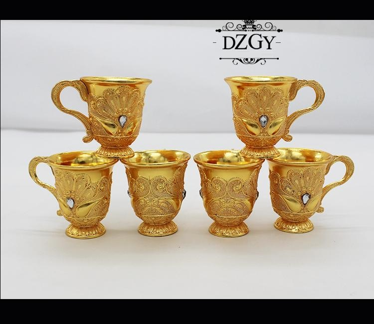 European Russian Retro Creative  Snifters Goblet With Hip Flasks Tray Engraving Bar Sets Gifts Home Decor