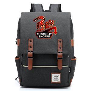Image 4 - 스네이크 팝의 chocklit shoppe Riverdale 소년 소녀 학생 학교 가방 청소년 Schoolbags 캔버스 여성 Bagpack 남성 벨트 배낭