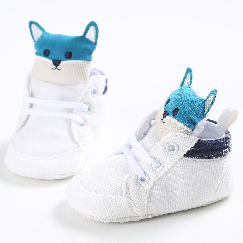 Kleinkind Schuhe Erste Wanderer Leinwand Sneaker Haken Baby Schuhe