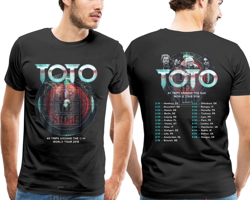 Aliexpress.com : Buy New Toto 40 Trips Around The Sun World Tour ...