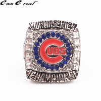 2016 REPLICA Chicago Cubs Baseball World Series Championship Ring Replica Men Jewelry Christmas Gifts Free Shipping