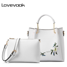 LOVEVOOK women handbags female shoulder crossbody bag with e