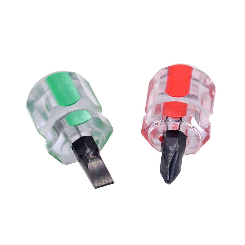 1 sztuk zestaw śrubokrętów środowiskowych zestaw Mini mały przenośny rzodkiewka głowy krzyż/śruba z rowkiem 2.5mm krzyż śruba kierowcy