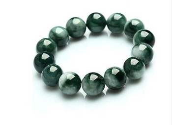 A natural YU bracelet j float male and female model shipped with YU shi certificate from an ancient pit in myanmar/1