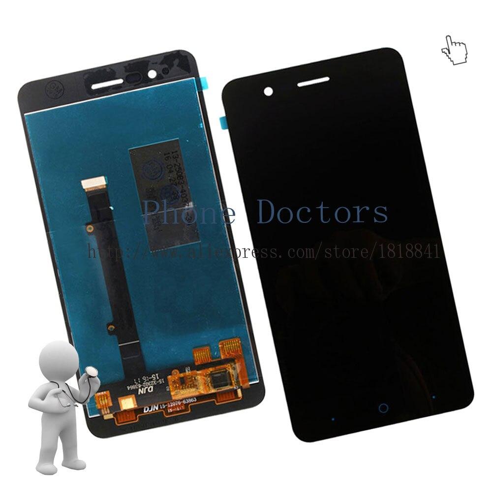 imágenes para 5.0 ''full lcd display + touch screen asamblea digitalizador para zte blade a510 ba510 ba510c; negro; nuevo; 100% Probado
