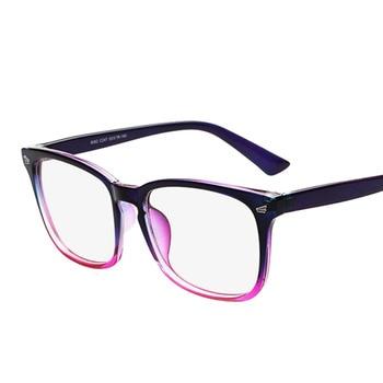 a7ef57e85 ماركة نظارات مصمم النظارات إطار نظارات الكمبيوتر المضادة للإشعاع نظارات  إطارات للنساء oculos دي غراو