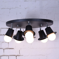 Creative Loft Vintage Pendant Lights Industrial Pendant Lamps For Restaurant Dining Room Lustres