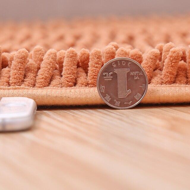 Vasca Da Bagno in microfibra Zerbino Antiscivolo 40x60 cm/50x80 cm Porta del Bagno Zerbino Morbido e Assorbimento pavimento della sala Tappeti e Tappeti Lavaggio in Lavatrice