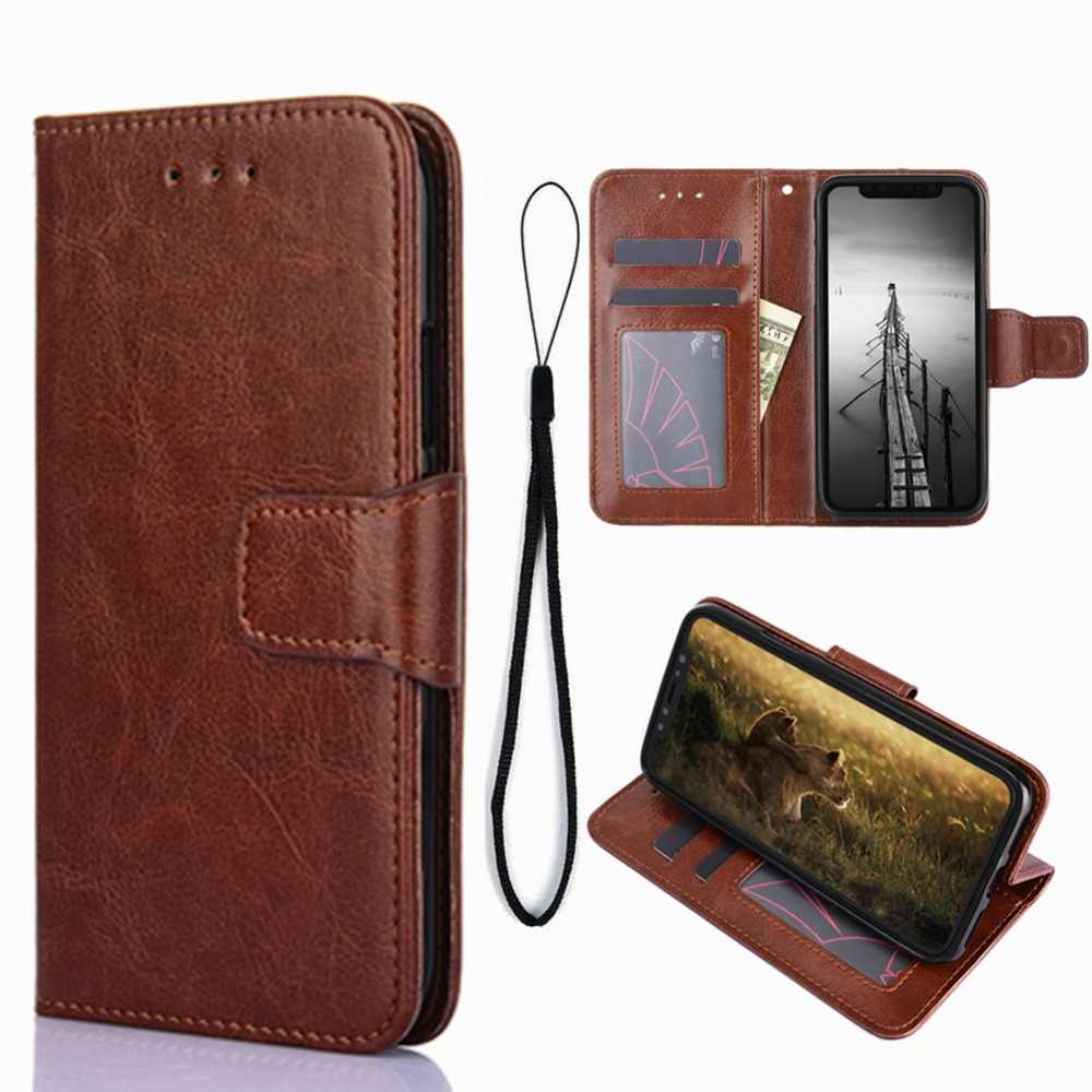 a2f9b2dd2a For NOKIA 6 2017 2018 Wallet Case Cover Nokia 2.1 3.1 5.1 X6 Leather  Magnetic Flip
