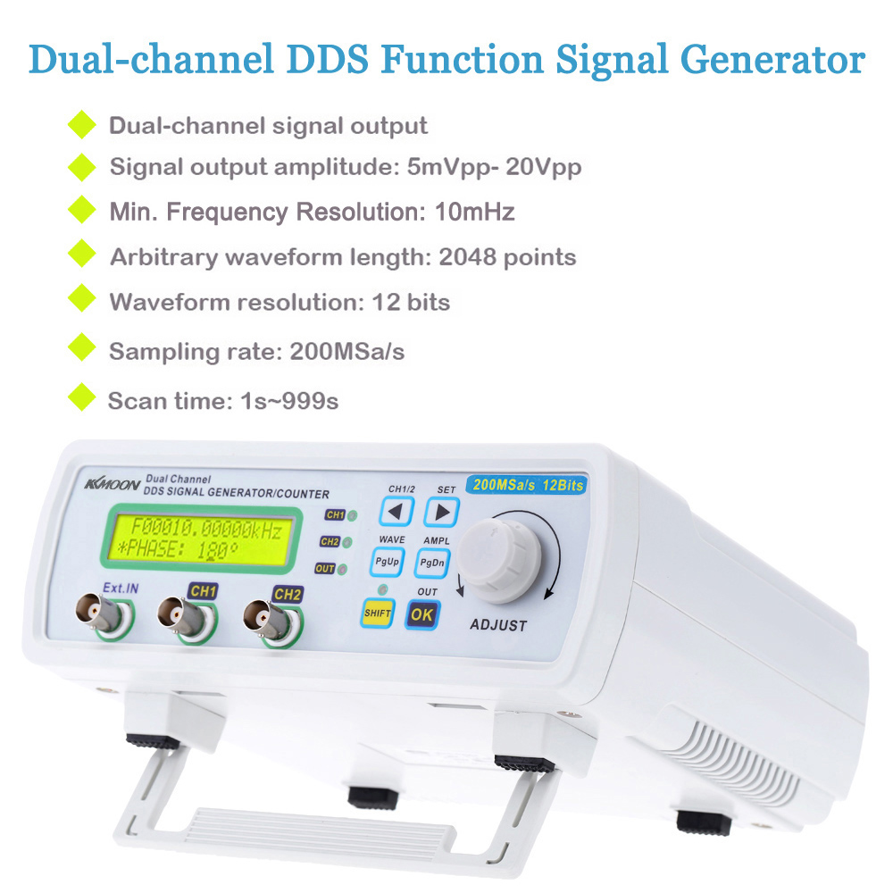 200msa S 25mhz Signal Generator Digital Dds Function Sine Wave Frequency Measurement Using Pic Microcontroller Arbitrary Waveform Meter In Generators From