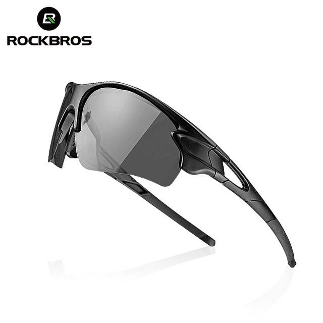 0f5cc77562 ROCKBROS los polarizado gafas ciclismo fotocromáticos hombres bicicleta  gafas de deporte al aire libre gafas de