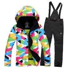 Одежда, брюки, дышащая лыжные сноуборд ветрозащитный куртки костюмы спортивные куртка женская