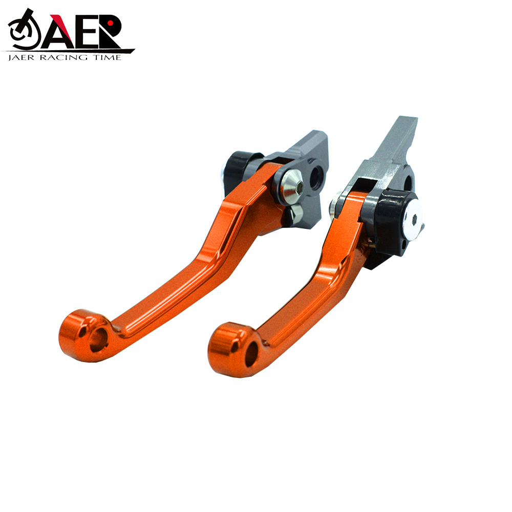 Image 3 - JAER CNC Pivot Foldable Clutch Brake Lever For KTM 65SX 2014 2019 85SX 2013 2014 2015 2016 2017 2018 2019-in Levers, Ropes & Cables from Automobiles & Motorcycles