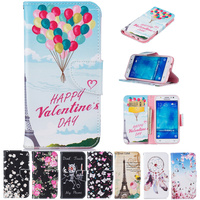 10 Fashion Patterns Flip Case For LG K10 Case PU Leather Silicone Wallet Cover For LG