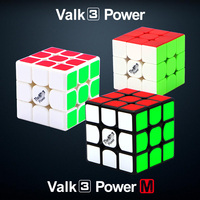 Mofangge Valk3 Power/Valk 3 Power M Speed Puzzle Magnetic Cube Professional Funny Toys Cube Toy