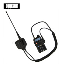 BAOFENG Speaker Microphone for Ham Two Way Radio Walkie Talkie UV5R GT3 888s with antenna