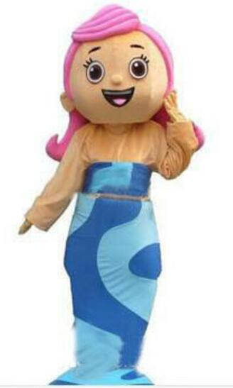 Bubble Guppies Halloween Costumes bubble guppies costume related keywords suggestions bubble guppies costume long tail keywords Low Cost New Bubble Guppies Molly Girl Mascot Costume Adult Size Cartoon Character Mascote Mascota